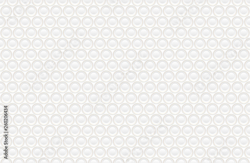 Valokuva  Abstract embossing volume white texture, vector seamless pattern
