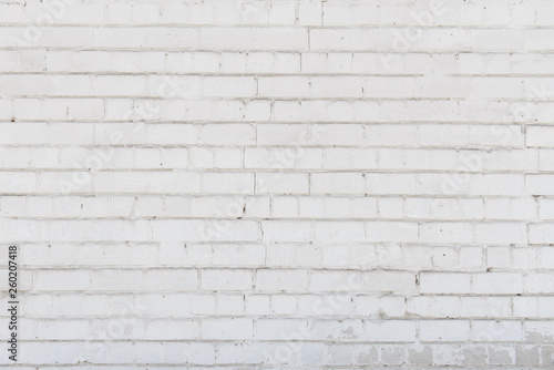 Tuinposter Baksteen muur White brick wall