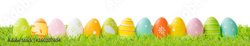 Poster Hoogte schaal Easter background concept.