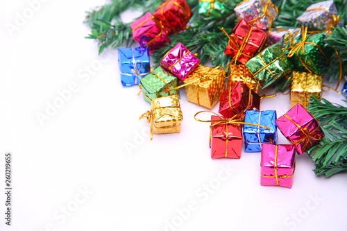 Türaufkleber Weltkarte Christmas background