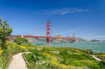 Golden Gate Bridge und Park in San Francisco