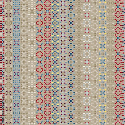 Ethnic boho seamless pattern Wallpaper Mural