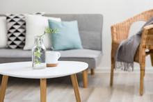Coffee Table In Scandinavian Style