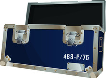 Open Blue Road Case For To Pro...