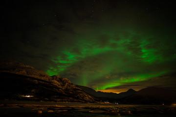 Zorza polarna w Troms