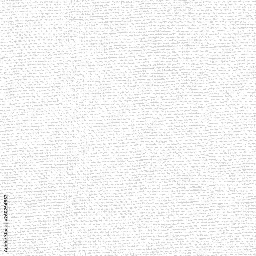 Fototapety, obrazy: Fabric canvas overlay texture. Vector seamless patern