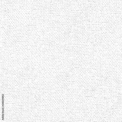 Fotografiet  Fabric canvas overlay texture. Vector seamless patern