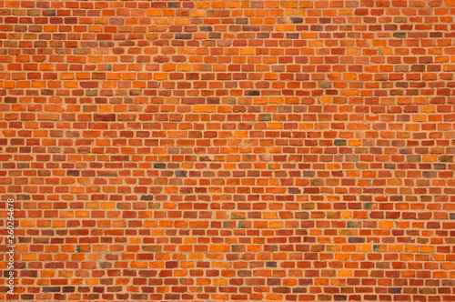 Photo sur Toile Brick wall old red brick wall texture