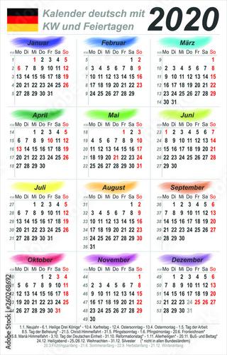 Kalenderwochen 2010