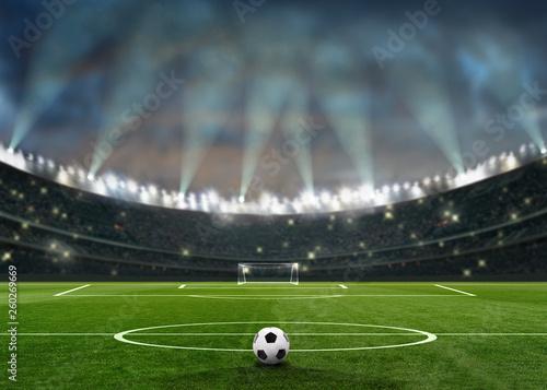 Fotografie, Obraz soccer fußballstadion