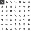 Agriculture and farming vector icons set, modern solid symbol collection, filled style pictogram pack. Signs, logo illustration. Set includes icons as agricultural tractor, farmer, rake, growing plant