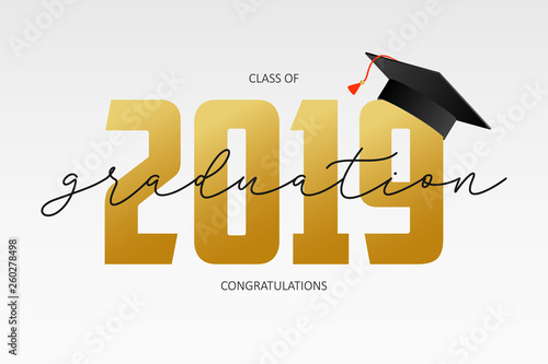 Fotografía  Graduating card template
