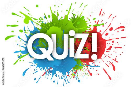 Fényképezés  quiz word and splashs