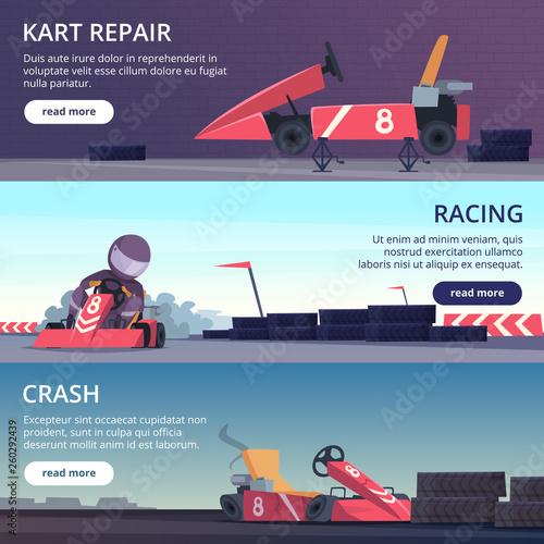 Fotografía  Karting cars