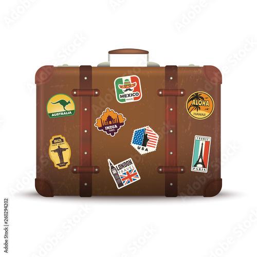 Fotografia Suitcase stickers