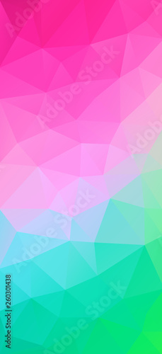 Vertical triangle background for your design - Vector