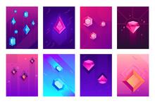 Abstract Crystals Poster. Prec...