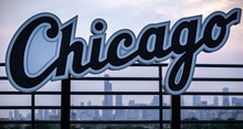 Chicago Sign With The Chicago ...