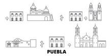 Mexico, Puebla Flat Travel Sky...