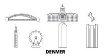 United States, Denver Flat Tra...