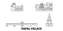 France,Papal Palace, Episcopal...