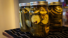 3 Pickle Jars