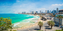 Panoramic View Of  Tel Aviv, I...