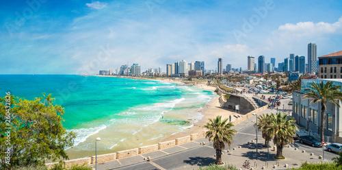 Panoramic view of  Tel Aviv, Israel Fototapeta