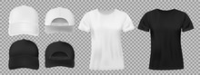 Set Of Sports Wear Template. B...