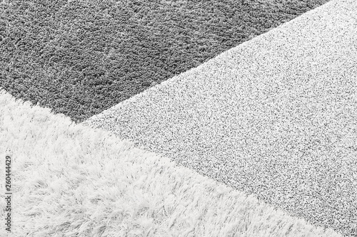 Texture of different carpets - 260444429