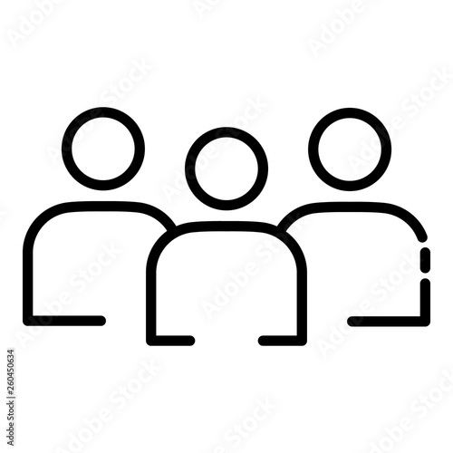 Photo  Volunteer group icon