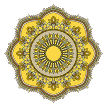 Mandala. Element For Design, Vector Illustration