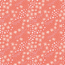 Tiny Floral Semless Vector Pat...
