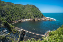 Storms River Suspension Bridge, Eastern Cape, Tsitsikamma National Park, South Africa