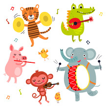 Cute Animals Play Musical Inst...
