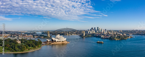 Recess Fitting Sydney Wide panoramic view of the beautiful city of Sydney, Australia