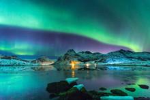 Northern Lights At Night Again...