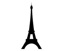 Torre Eiffel Logo Vettoriale - Parigi, Francia