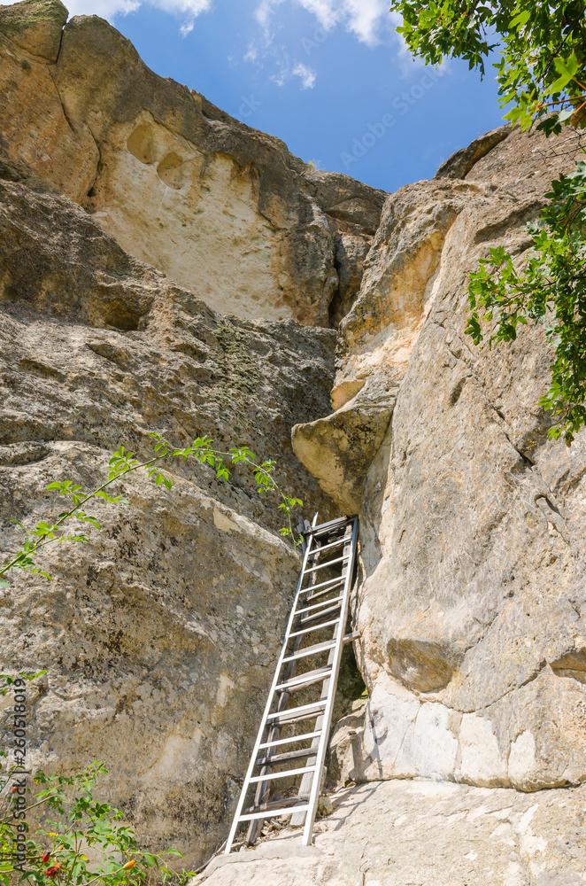 Fototapeta Utroba cave - place of religious worship of ancient Thracians