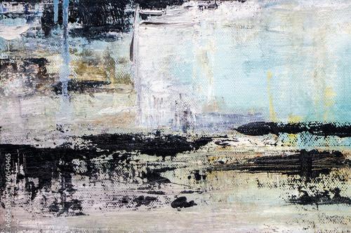 Fototapeta abstract acrylic painting on canvas  obraz