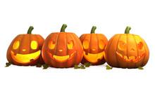 3D Illustration Of Halloween P...