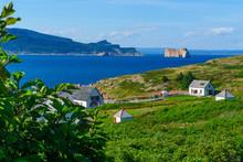 Bonaventure Island And The Perce Rock