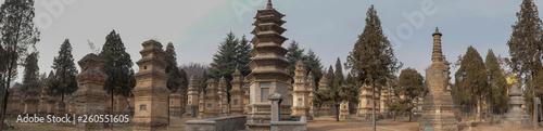 Fotografía Talin Pagodas, It's memorial of the high priest of Shaolin temple