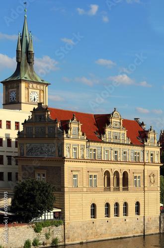 Fotografie, Obraz  building of the city of Prague
