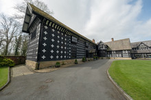 Salmesbury Hall In April