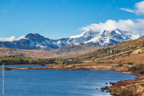 Canvas Print Snowdonia national park,
