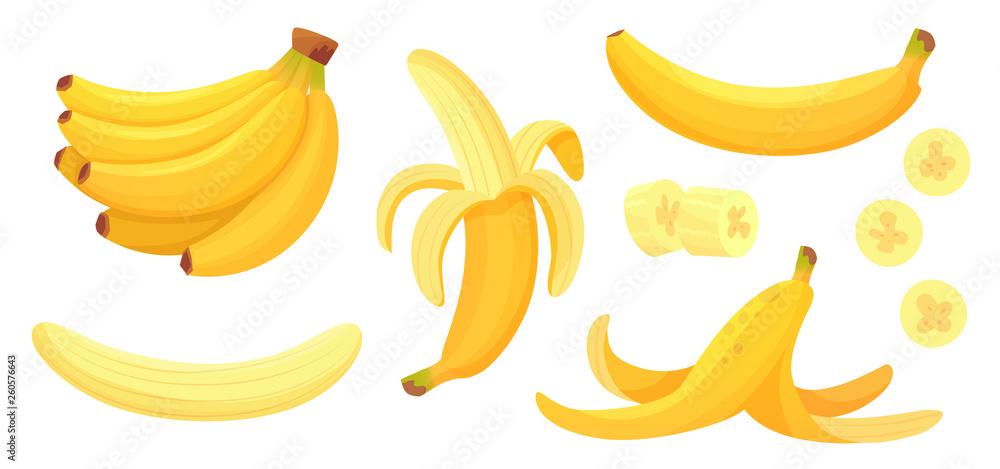 Fotografie, Obraz Cartoon bananas