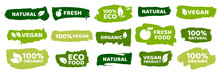 Organic Food Labels. Fresh Eco...