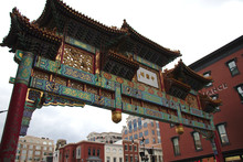 Chinatown Arch In DC