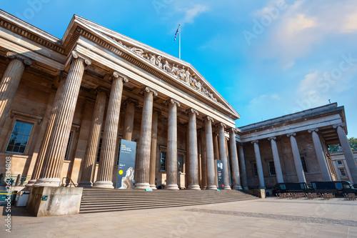 Foto  The British Museum in London, UK